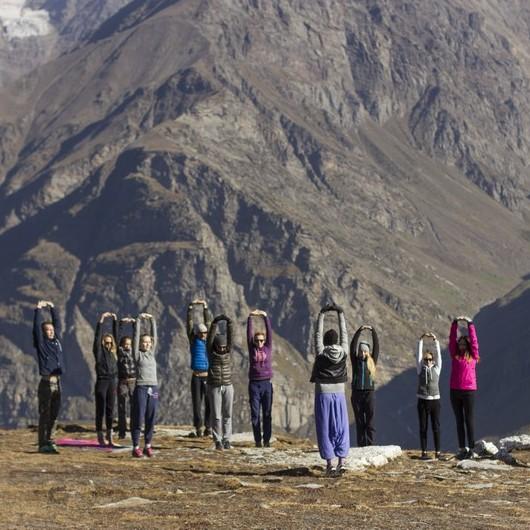Осенний йога-интенсив и треккинг в Гималаях от проекта YOGA_METHOD